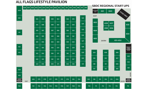 All Flags Lifestyle Pavilion Map