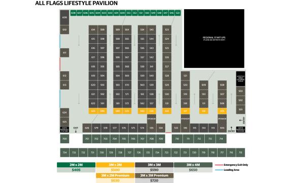 Lifestyle Pavilion Map