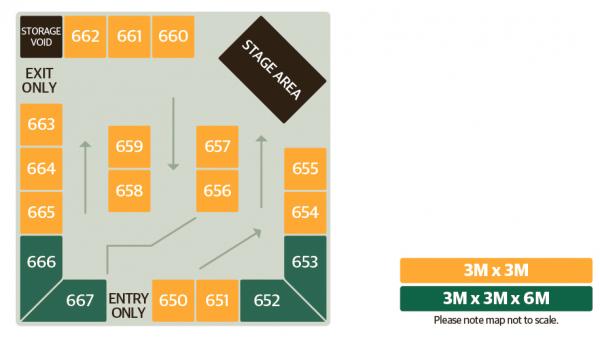 Regional Start-Ups Arena Map