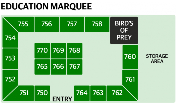 Education Marquee Map