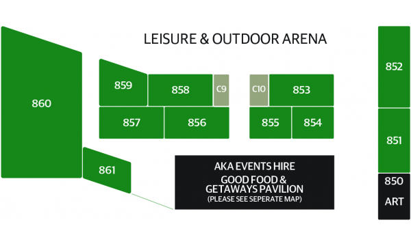 Leisure & Outdoor Arena Map